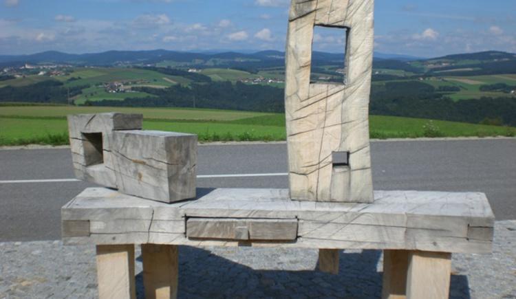 Skulptur Sauwaldpanoramastraße (© Gemeinde Vichtenstein)