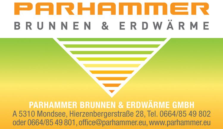 Logo: Parhammer Brunnen und Erdwärme