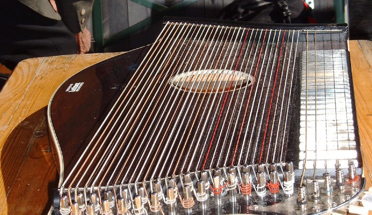 At the folk music weekend there will also be workshops with Zither.
