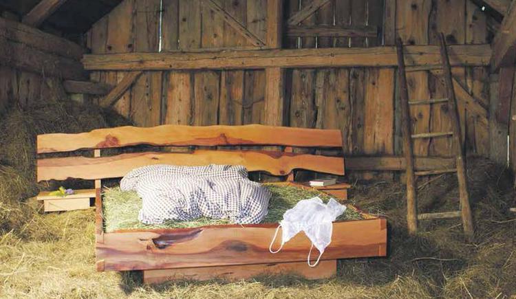 Bett im Heu