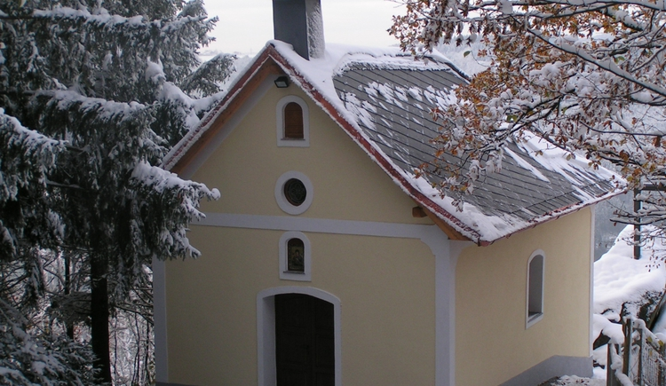 Die Kapelle am Donaublick Penzenstein (© TV Neustift)