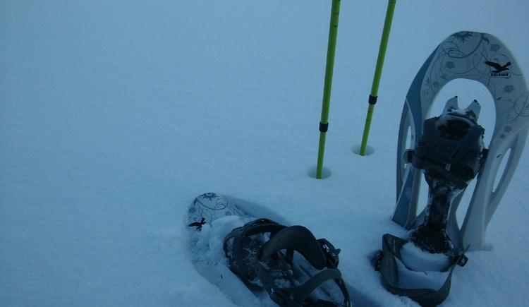 Schneeschuhe. (© A. Hofmann)