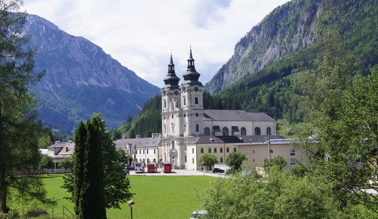 Blick zurück auf den Dom am Pyhrn (© ÖBF/Schwantzer)