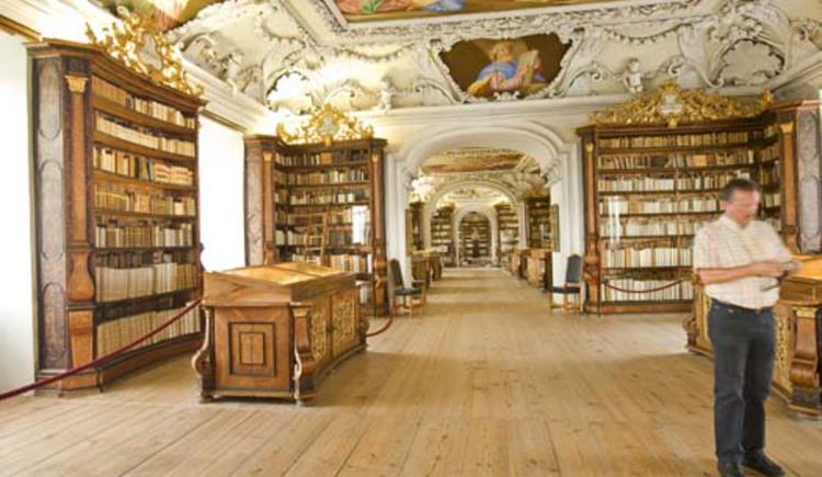 Stift Kremsmünster Bibliothek. (© Tourismusverband Bad Hall - Kremsmünster)