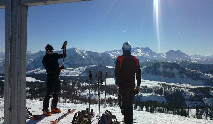 Skitour auf das Egelseehörndl, Gipfel Pitscherberg. (© WTG)