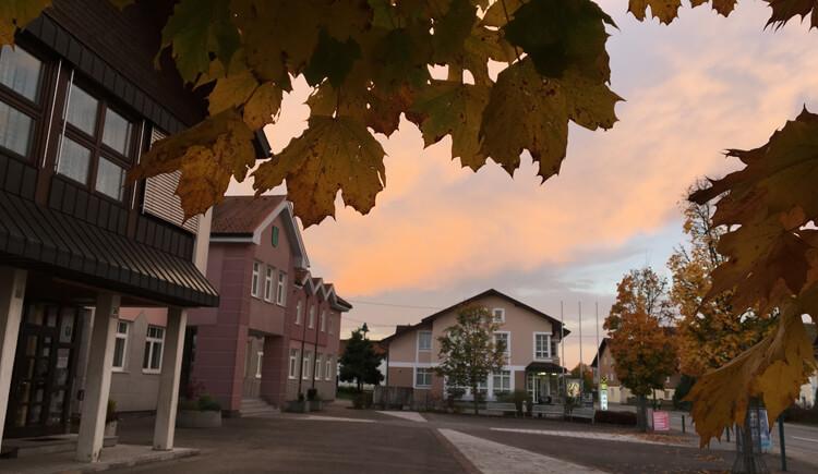 ortsplatz-gemeinde-weng (© Gemeinde Weng)