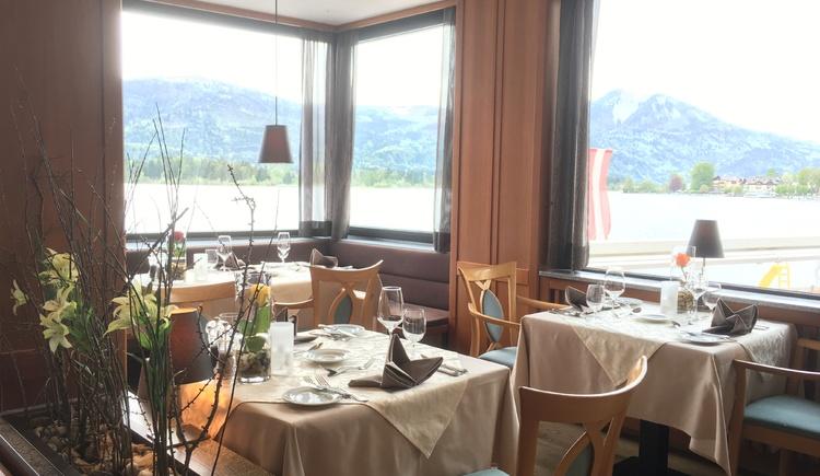 Restaurant für unsere Rössl-Pension - 4 Gang Wahlmenü. (© Romantik Hotel Im Weissen Rössl)
