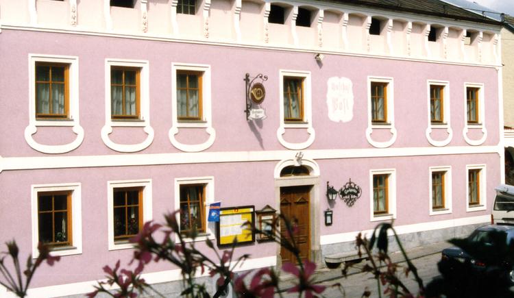 Gasthof, Gaststube, Gastgarten. (© TK St. Oswald b. Fr.)