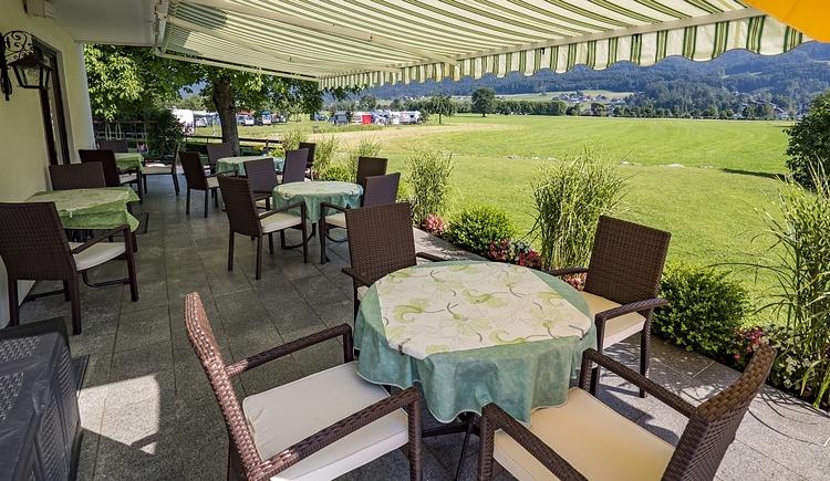 Terrasse (© Kloibergütl)