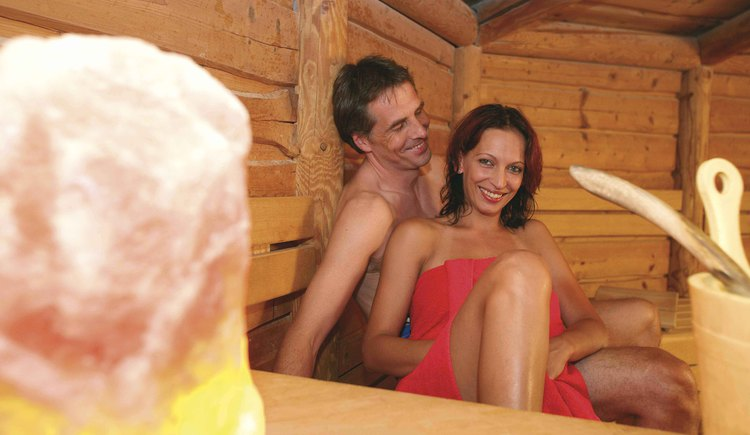 Relaxium Stadlsauna. (© EurothermenResort Bad Hall)