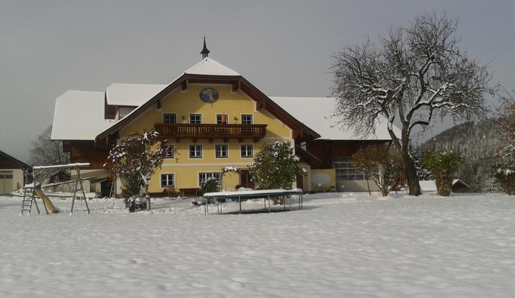 Vorderschwandtgut im Winter (© Vorderschwandtgut - Fam. Wörndl)