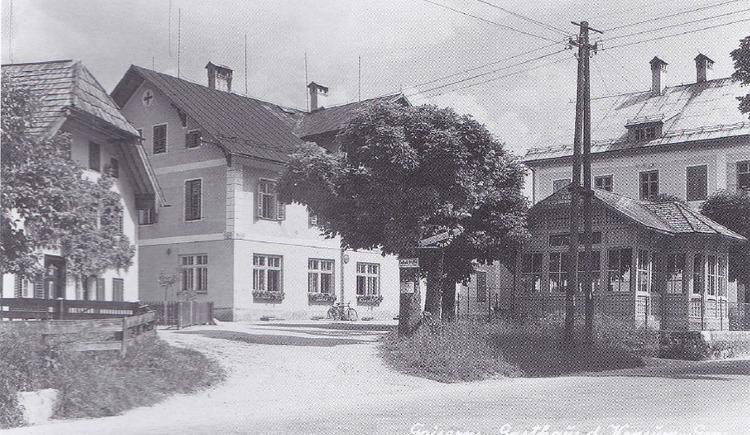 Das ehemalige Konsumgebäude von Bad Goisern - Station 8