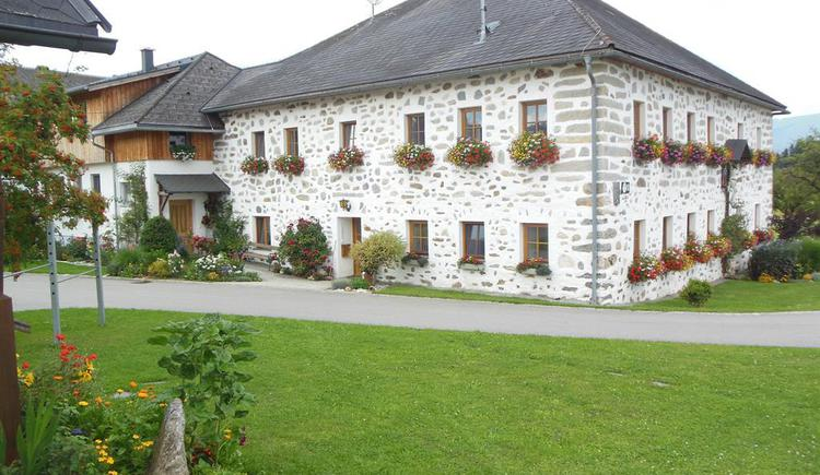Bauernhof im Steinbloß-Stil