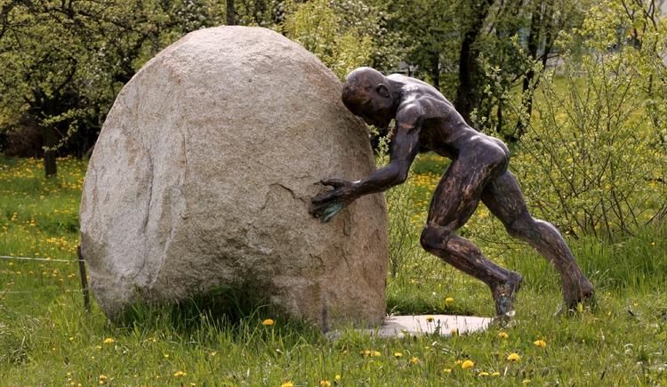 Kulturplatzl, Bronzemann