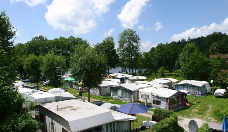 Campingplatz am Holzöstersee, Familie Wimmer