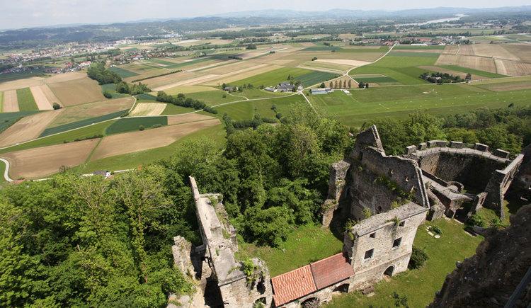 Ruine Schaunburg. (© Oberösterreich Tourismus GmbH/Martin Fickert)