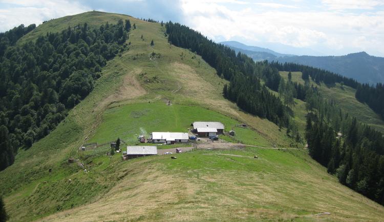 Blick zur Loibersbacher Höhe (© Tourismusverband Faistenau)