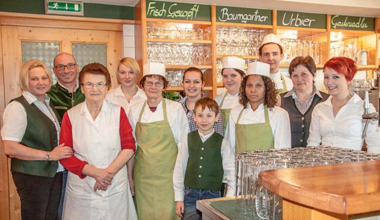 Team von Schranks Wirtshaus Eschenau. (© Anita Tossmann, entflammt.com)