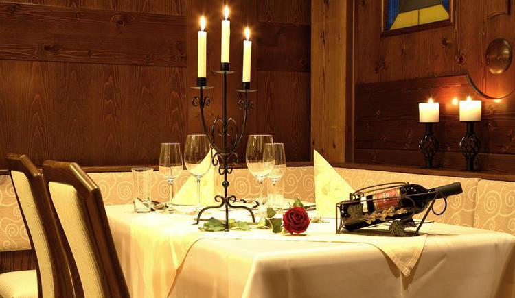 Restaurant (© Kräuter- und Wanderhotel Bärnsteinhof)