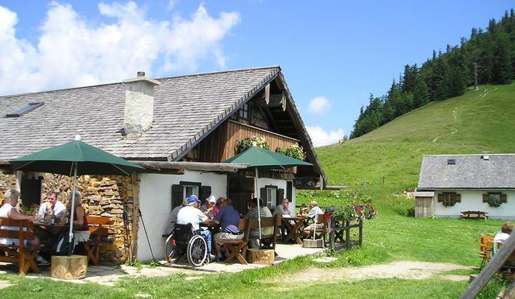 Hut `Lanznhütte` (© Lanznhütte)