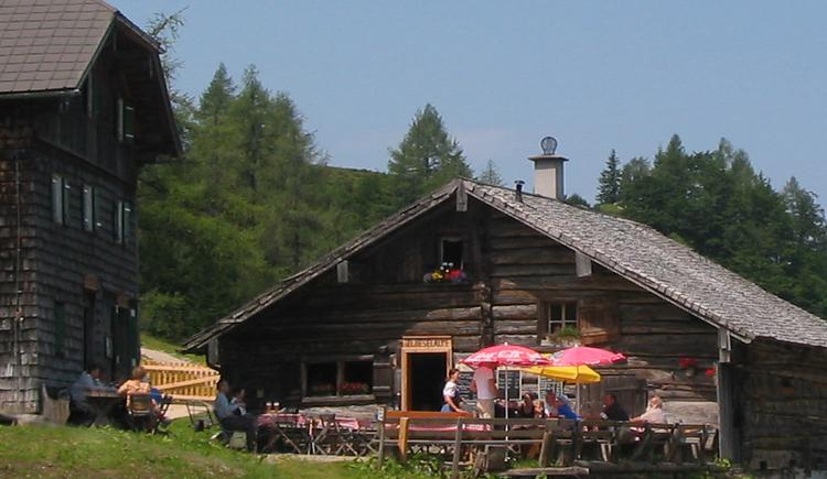 The Zwieselalm in summer