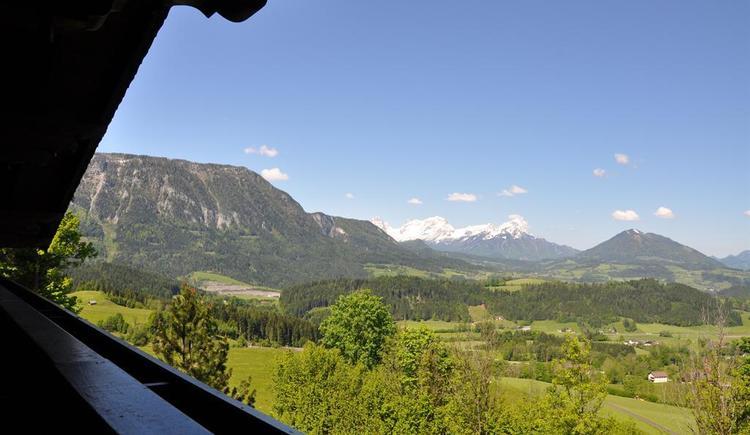 Alpenpanorama vom Balkon