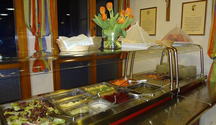 Salatbuffet (© privat)