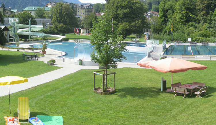Parkbad Bad Ischl (© Tourismusverband Bad Ischl)