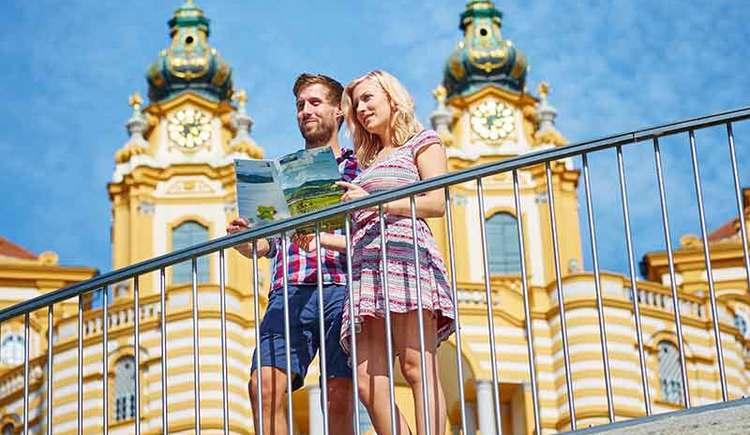 Aussichtsplattform bei Stift Melk (© Stadt Melk)