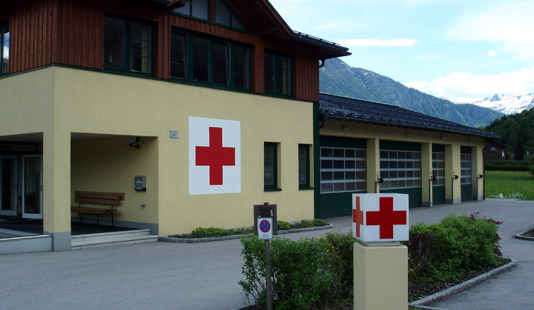 Location of the Red Cross Bad Goisern located in Reitern right on the B 166.