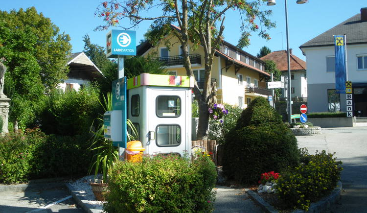 E-Tankstelle Waldzell (© www.waldzell.ooe.gv.at)
