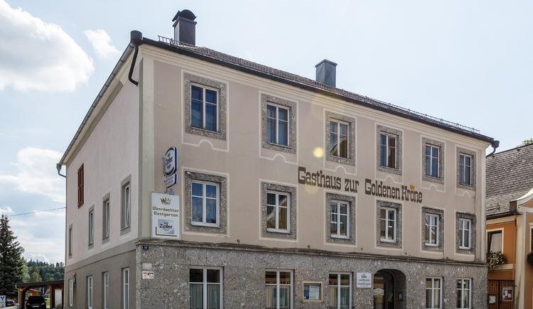 Gasthaus zur Goldenen Krone (© Anton Eitzinger)