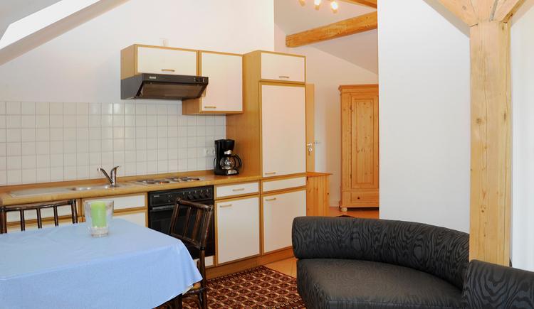 Appartements Hartinger Altheim Kochbereich. (© Innviertel Tourismus)