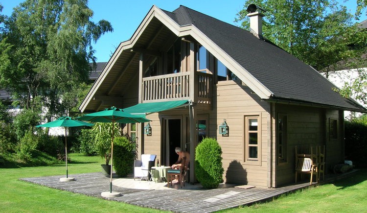 Ferienhaus vom Hotel Stroblerhof. (© Hannes Happ)