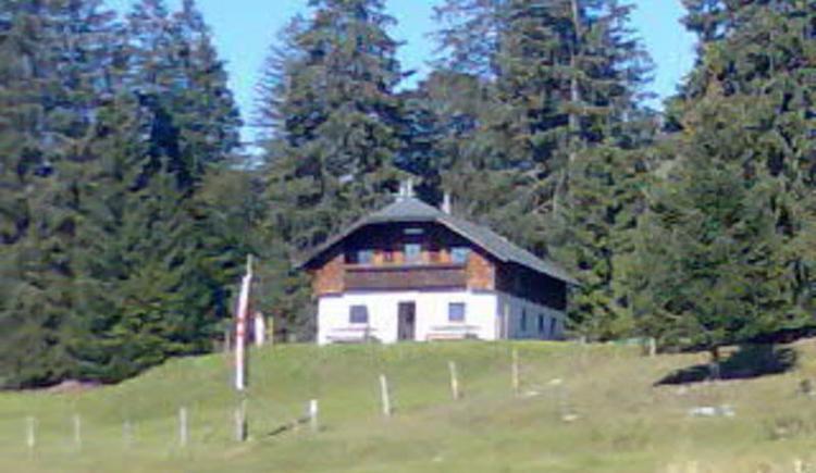 Moosegghütte am Anzenberg (© Moosegghütte - Familie Rosenlechner)