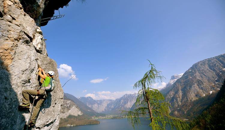 Zahlreiche Klettersteige in der Region werden von der Firma Outdoor Leadership betreut und auch erbaut. Erfahrende Guides begleiten euch gerne. (© ©Heli Putz)