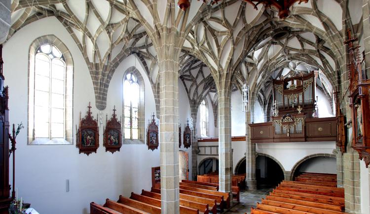 Spätgotische Kirche Königswiesen