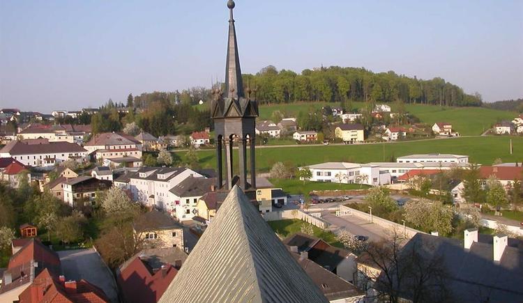 Blick vom Kirchturm (© Ferienregion Böhmerwald | Berger)