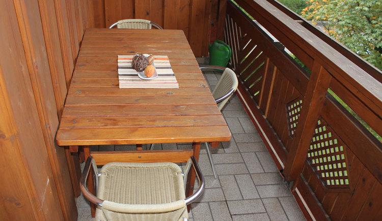 Balkon Ferienwohnung 3 Christine Schober Attergau Salzkammergut