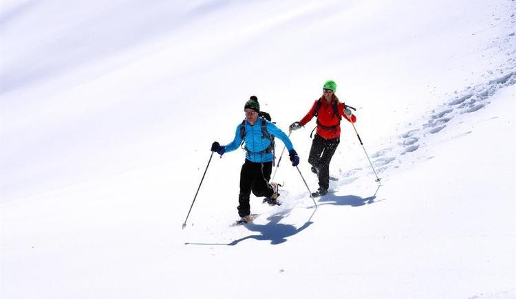 Wandern mit Schneeschuhen am Feuerkogel (© (c) OÖ Tourismus-Röbl)