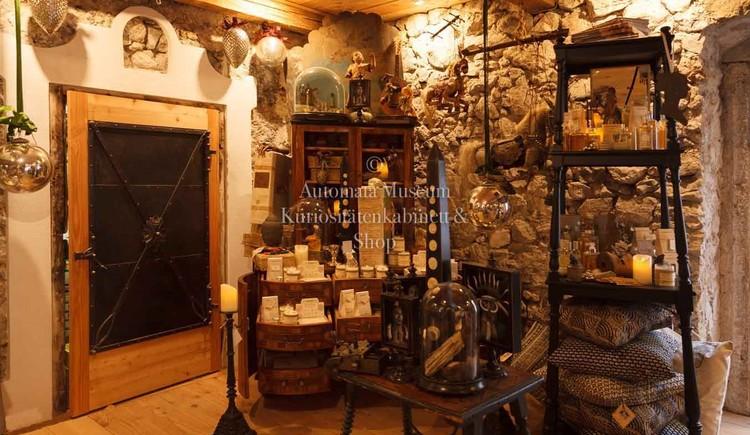 Das Automaten Museum und Kuriositätenkabinett befindet sich in einer historischen Wassermühle.