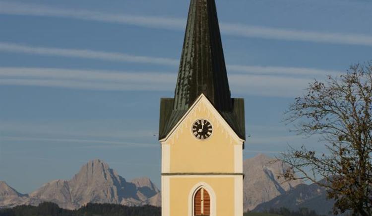 Kirchturm Pfarre Windischgarsten (© Pfarre Windischgarsten)