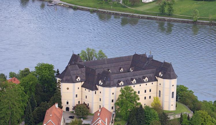 Schloss Greinburg - Luftaufnahme