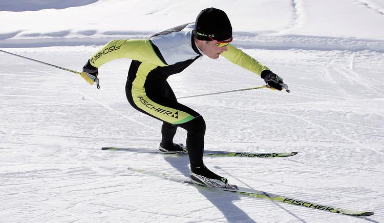 Langlaufen, Skaten auf der Mühlvierler Alm, Fischer Ski