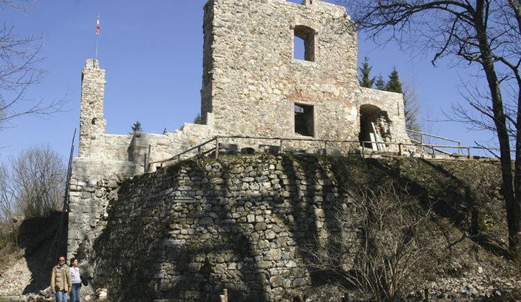 Ruine Seisenburg in Pettenbach. (© Marktgemeinde Pettenbach)