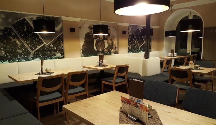 gemütlicher Sitzbereich Wiener Cafe