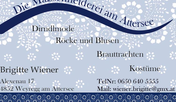 Visitenkarte (© Wiener Gerhard)