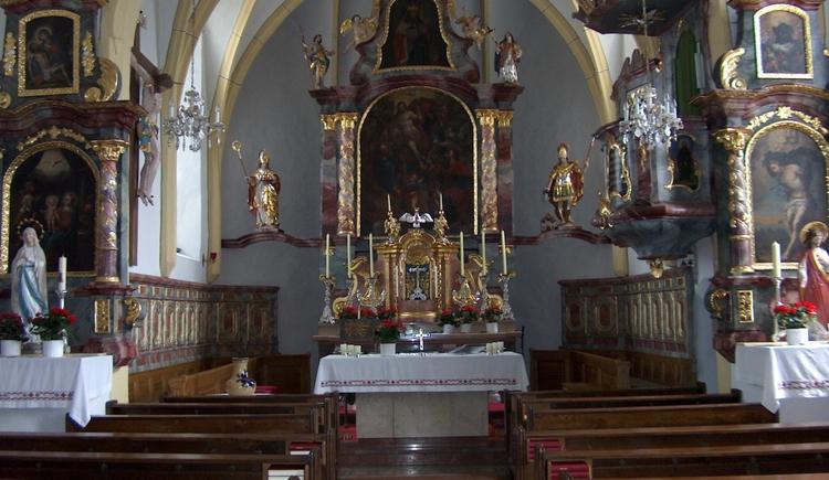 Kirche Innenansicht, Geretsberg