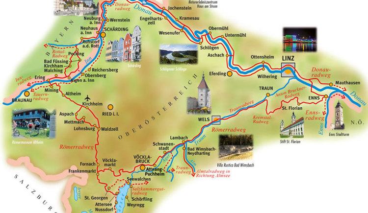 Römerradweg\nAusflugsziel Bad Wimsbach-Neydharting