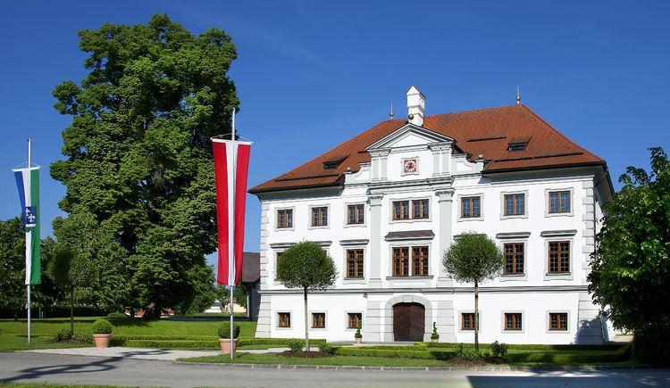 Ansicht Schloss Stauff, Frankenmarkt, Salzkammergut (© TV Frankenmarkt)